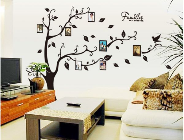 Photo Frames Tree Removable Wall Sticker Decor Mural Decal