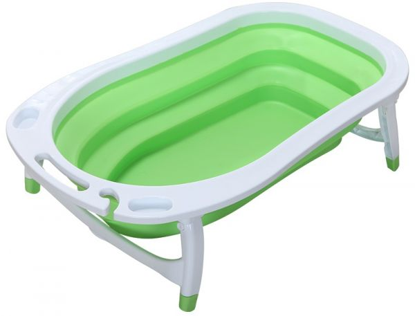 Children Folding Bath Tub Green Price Review And Buy In - Bathing Baby Without Tub