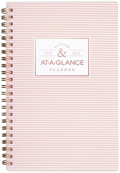 at-A-Glance Academic Weekly/Monthly Planner, July 2018 - June 2019