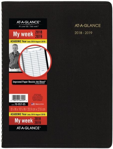 Souq AT-A-GLANCE Academic Weekly Planner / Appointment Book, July