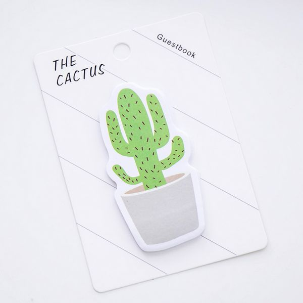 Creative Potted Plant Style Sticky Note Paper Schedule Marker