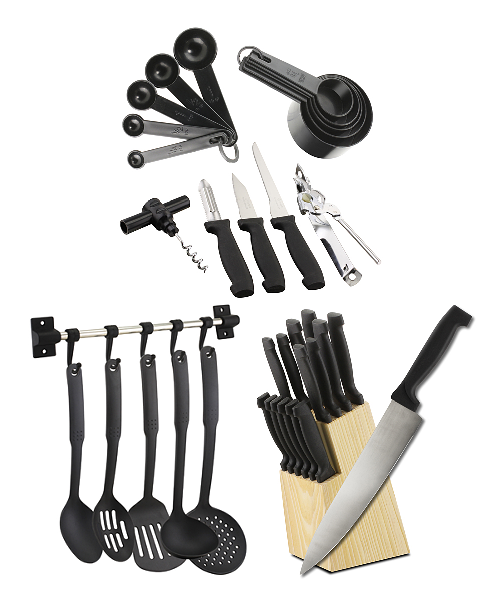 Cucina Vita Knife Set Cucina Vita Complete Classic 41 Piece Kitchenware Set