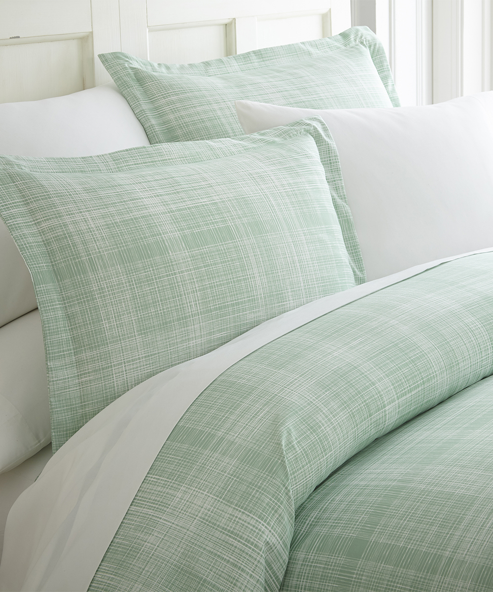 Soft Duvet Covers Ienjoy Home Collection Forest Green Ultra Soft Duvet Cover Set