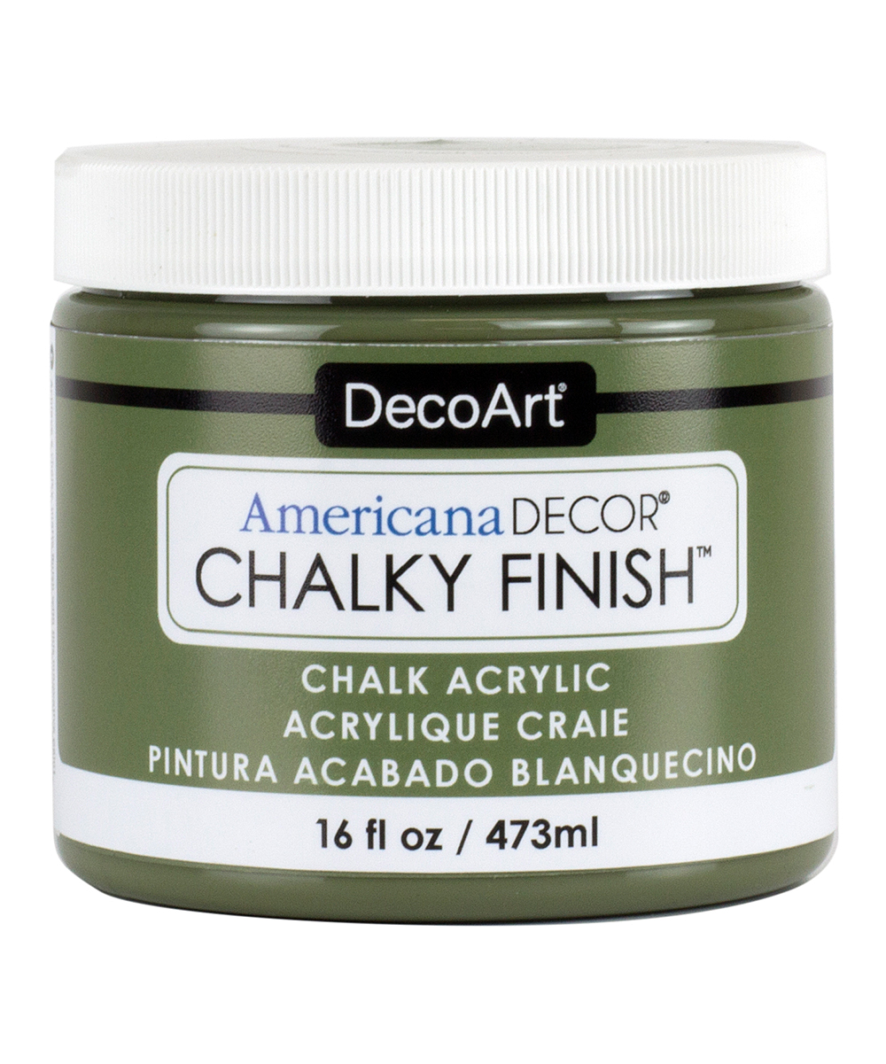 Americana Decor Chalky Finish Decoart 16 Oz Enchanted Americana Décor Chalky Finish Paint