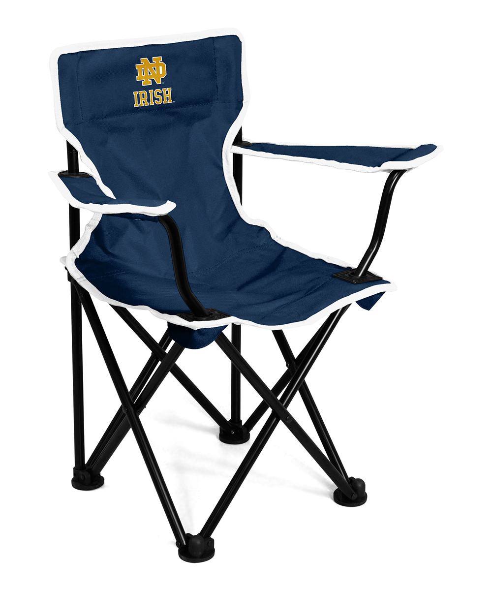 Collapsible Chair Logo Chair Inc Navy White Notre Dame Toddler Collapsible Chair