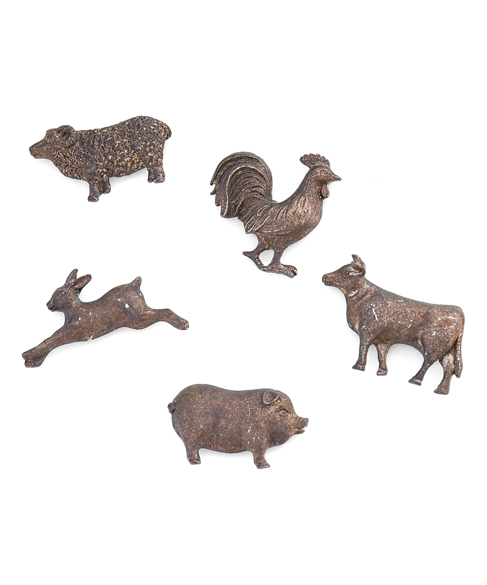 Cadre Photo Magnet Ragon House Farm Animal Magnet Set