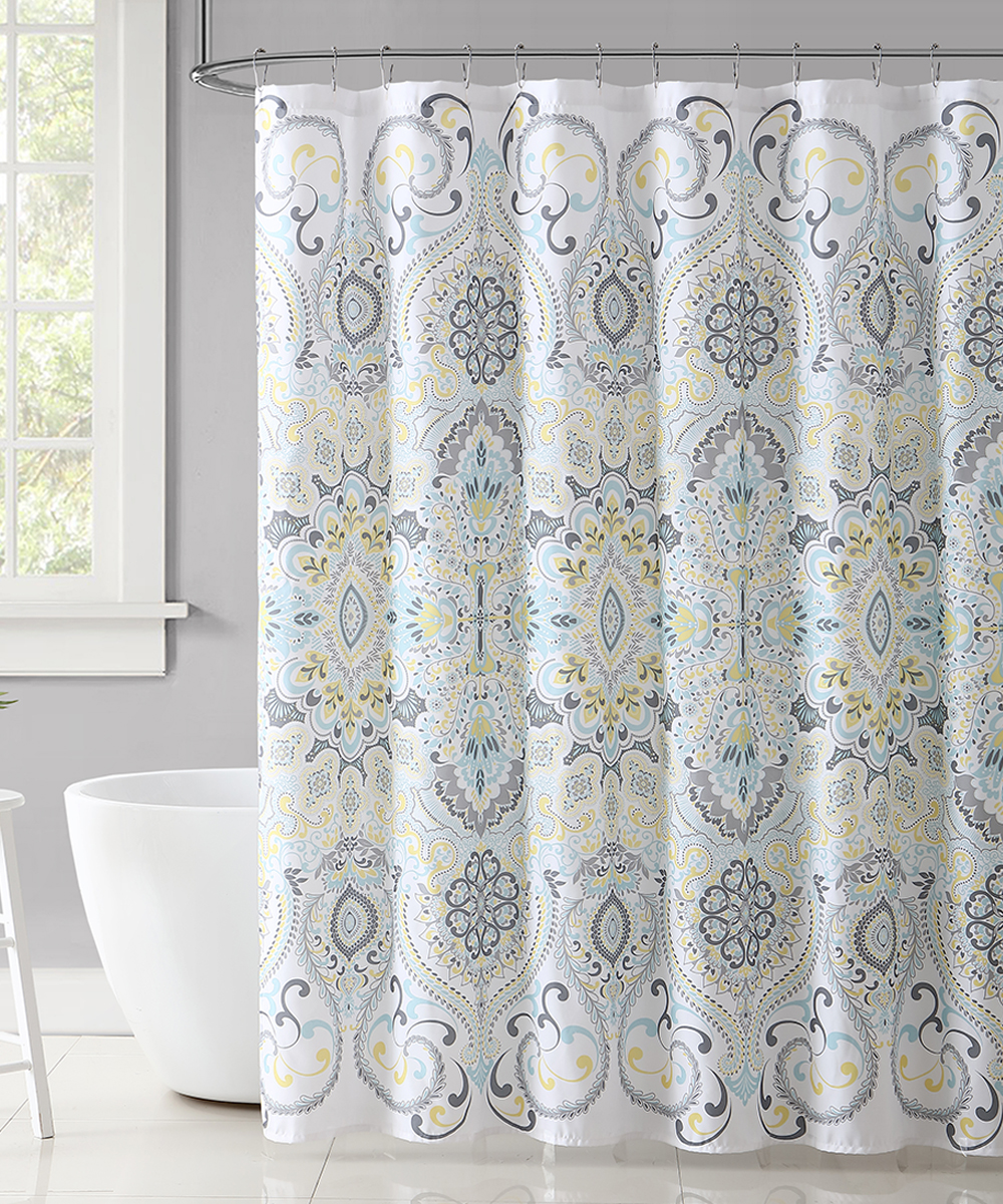 How To Make Curtain Lights Vcny Home Light Blue Amherst Shower Curtain
