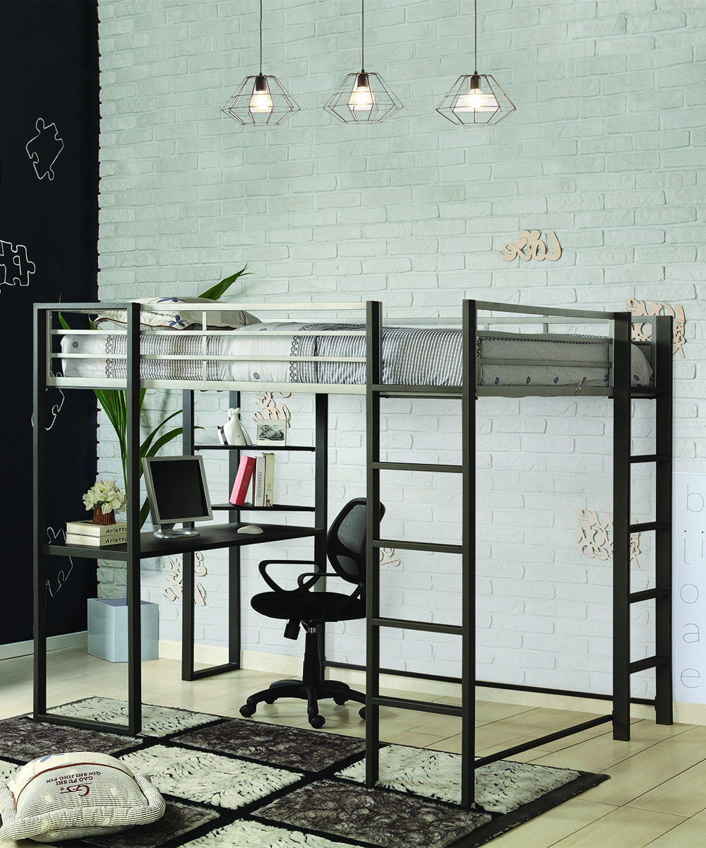 Loft Perth Furniture Of America Perth Full Loft Bed Workstation