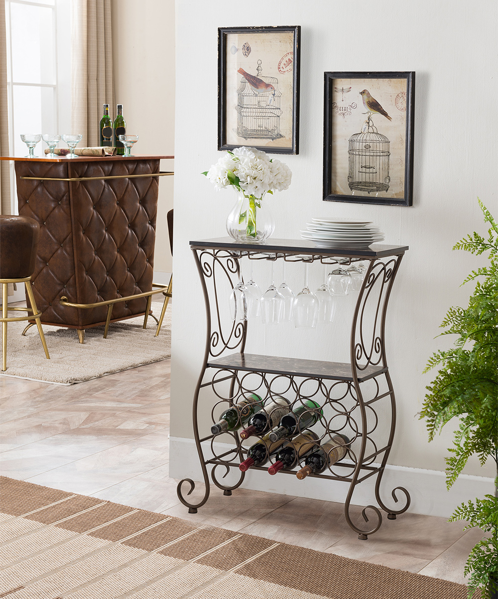 Wine Holder Stand Pilaster Designs Transitional Metal Wine Rack Display Stand