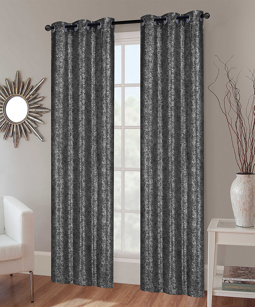 How To Make Curtain Lights S L Home Fashions Light Gray Adeline Blackout Curtain Panel Set Of Two