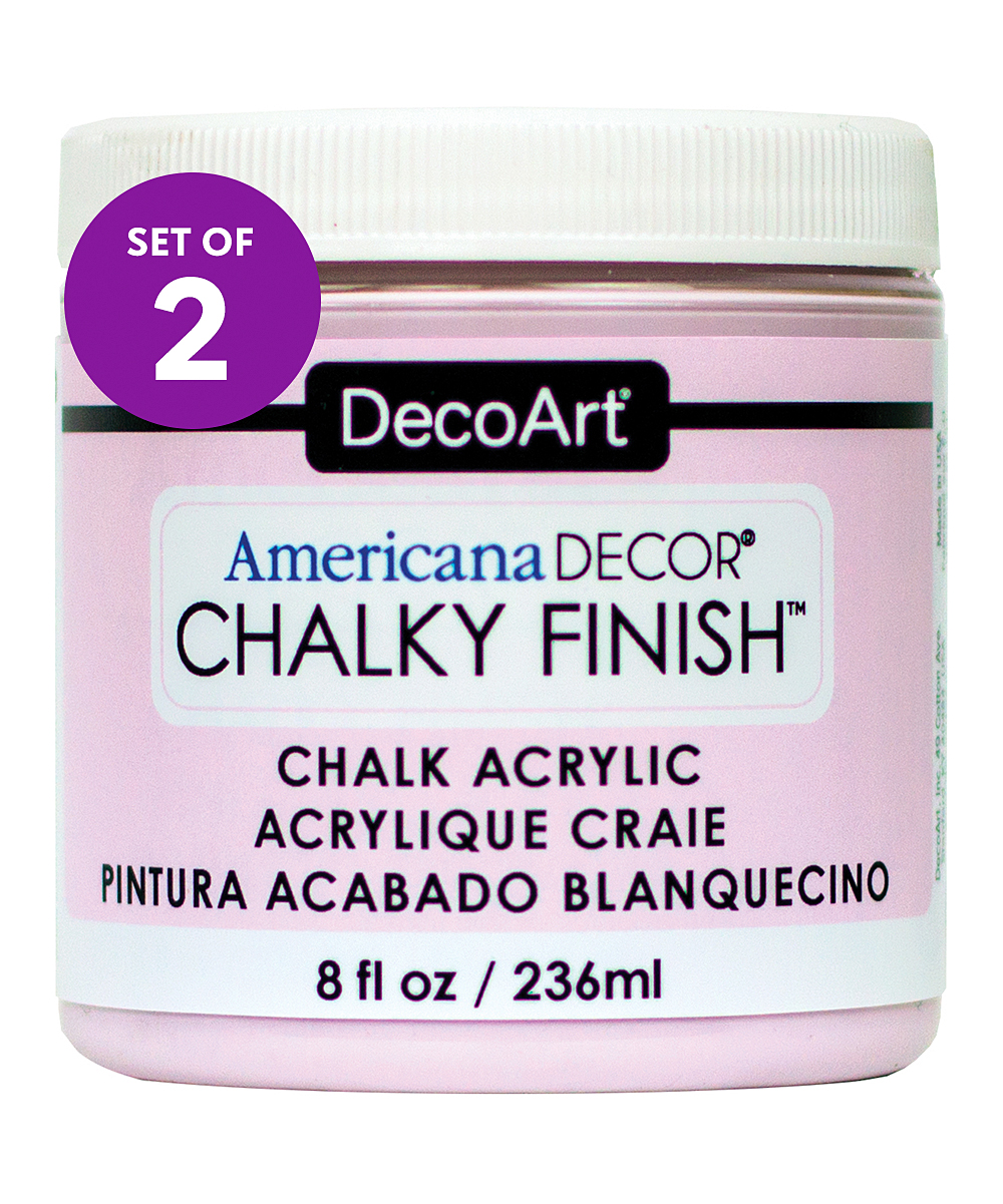 Americana Decor Chalky Finish Decoart Promise Americana Décor Chalky Finish Paint Set Of Two