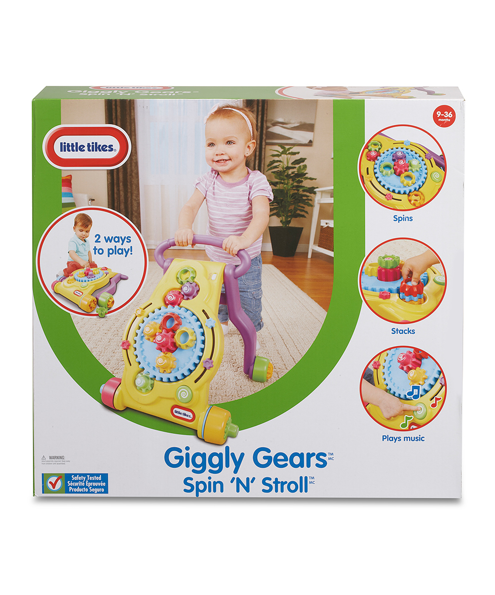 Tike Securite Notice Little Tikes Little Tikes Giggly Gears Spin N Stroll