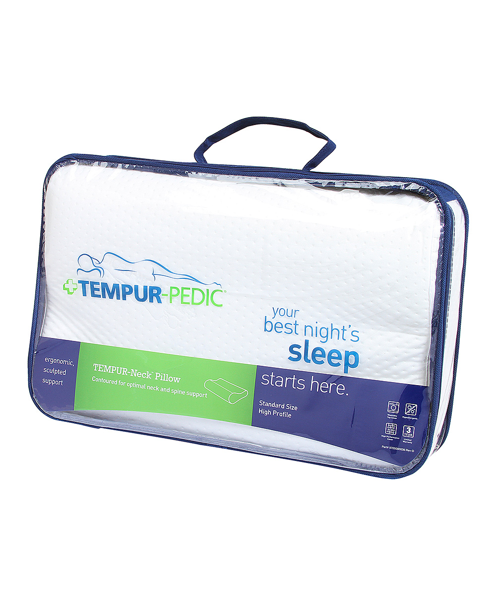 Tempur Neck Pillow Large Tempur Pedic Large Tempur Neck Pillow