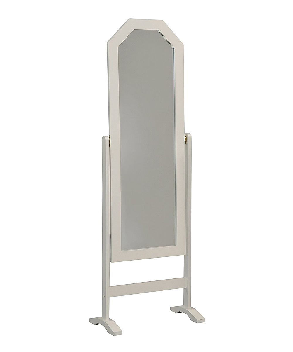 White Floor Mirror Pilaster Designs White Free Standing Floor Mirror