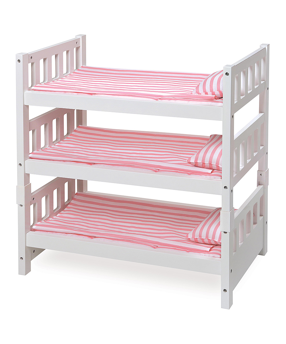Snooze Bunk Beds 1 2 3 Convertible Doll Bunk Bed For 18 Doll