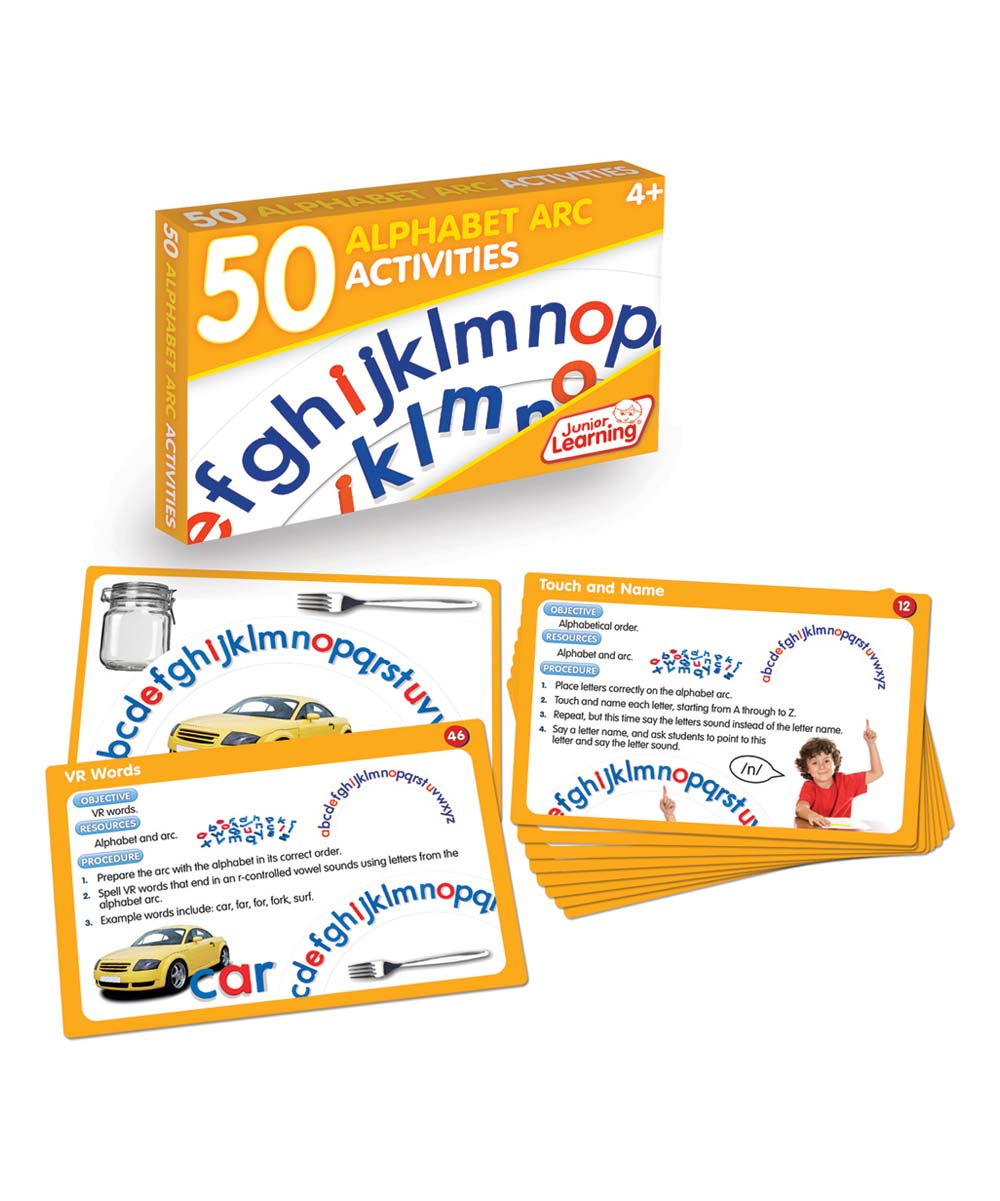 50 Zu 50 Junior Learning 50 Alphabet Arc Activities Set
