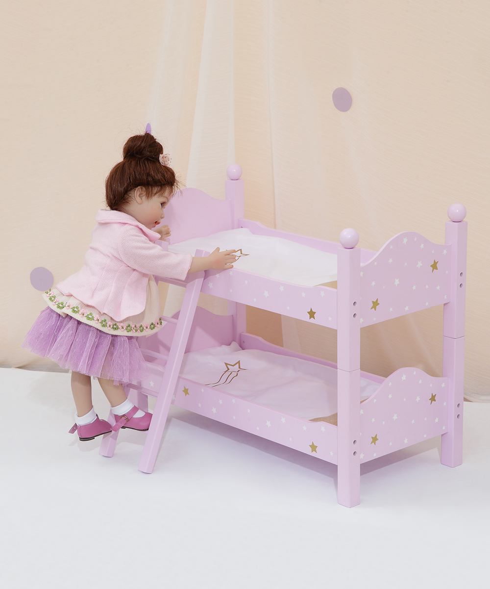 Snooze Bunk Beds Olivia S Little World Twinkle Stars Princess Double Bunk Bed For 18 Doll
