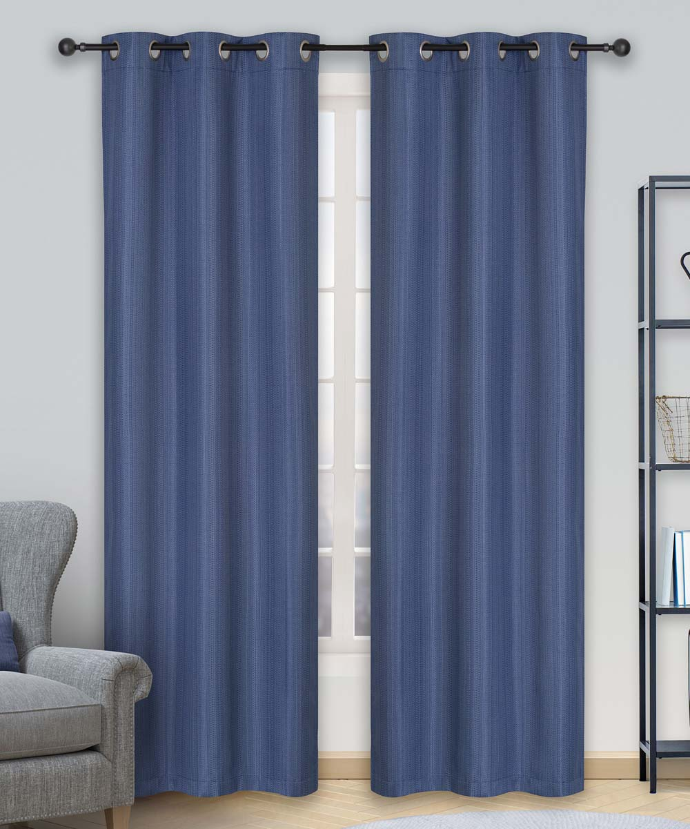 Curtains For A Blue Room Safdie Co Inc Marine Blue Room Darkening Curtain Panel Set Of Two
