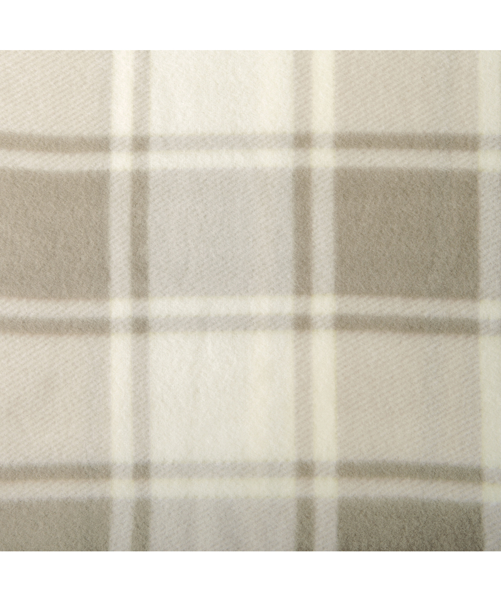 Plaid Taupe Home Fashion Designs Taupe Plaid Polar Fleece Sheet Set
