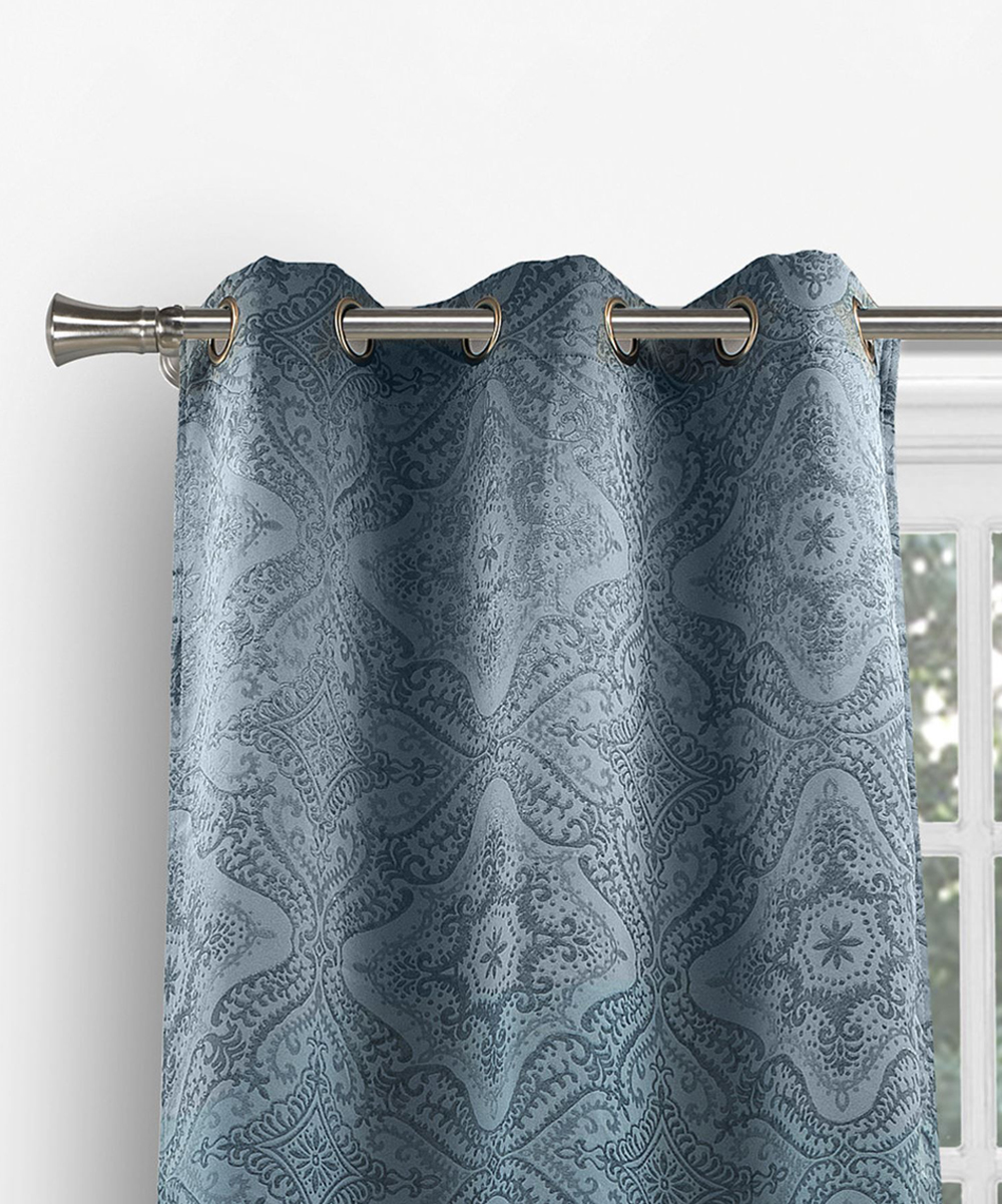 Teal Blackout Curtains Duck River Textile Teal Courtney Blackout Curtain Panel Set Of Two