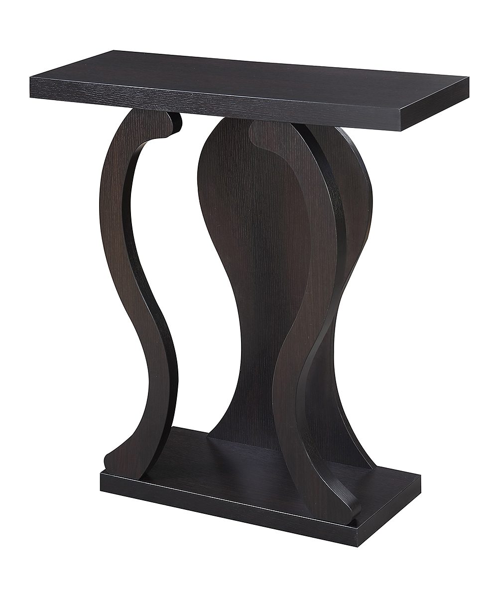 Freedom Console Table Convenience Concepts Espresso Newport Terry B Console Table