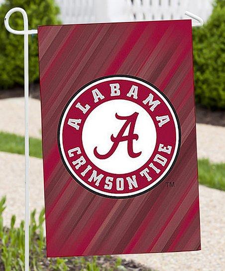 Team Spirit Hair Alabama Crimson Tide Two-Design Double-Sided Garden