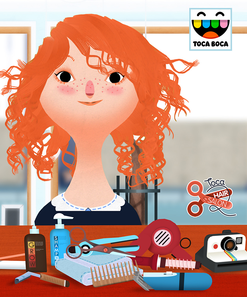 Toca Boca Hair Salon Toca Boca Toca Boca Hair Salon 2 Game