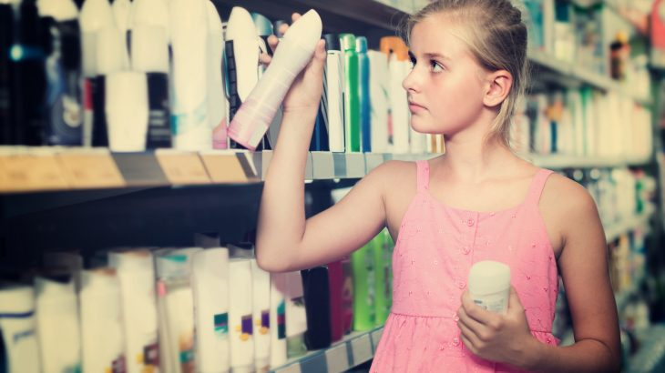 Chemicals in personal care products linked to early puberty for
