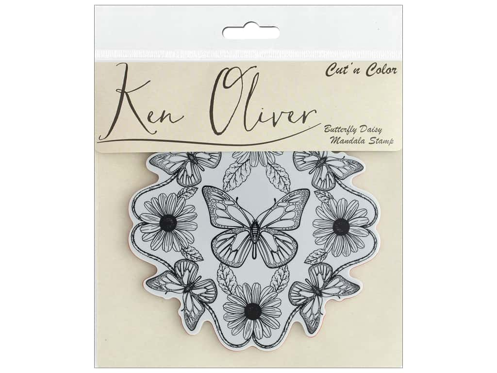 Rubber Mand Details About Contact Crafts Koliver Stamp Butterfly Daisy Mand