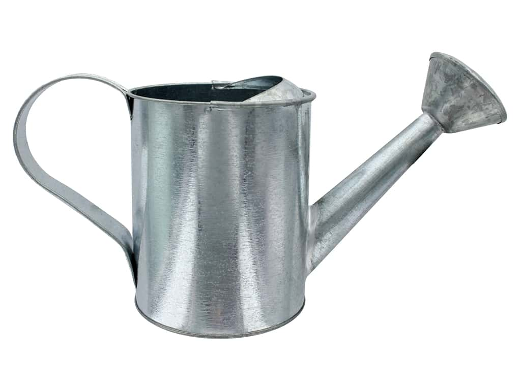 Galvanized Watering Cans Darice Watering Can Round 5x10 Galvanized Createforless