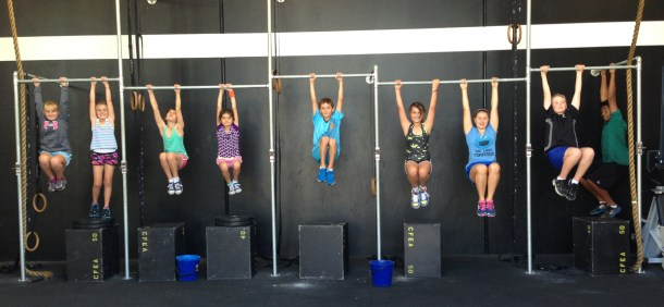 Wod CFS Box CrossFit Sevilla training Kids