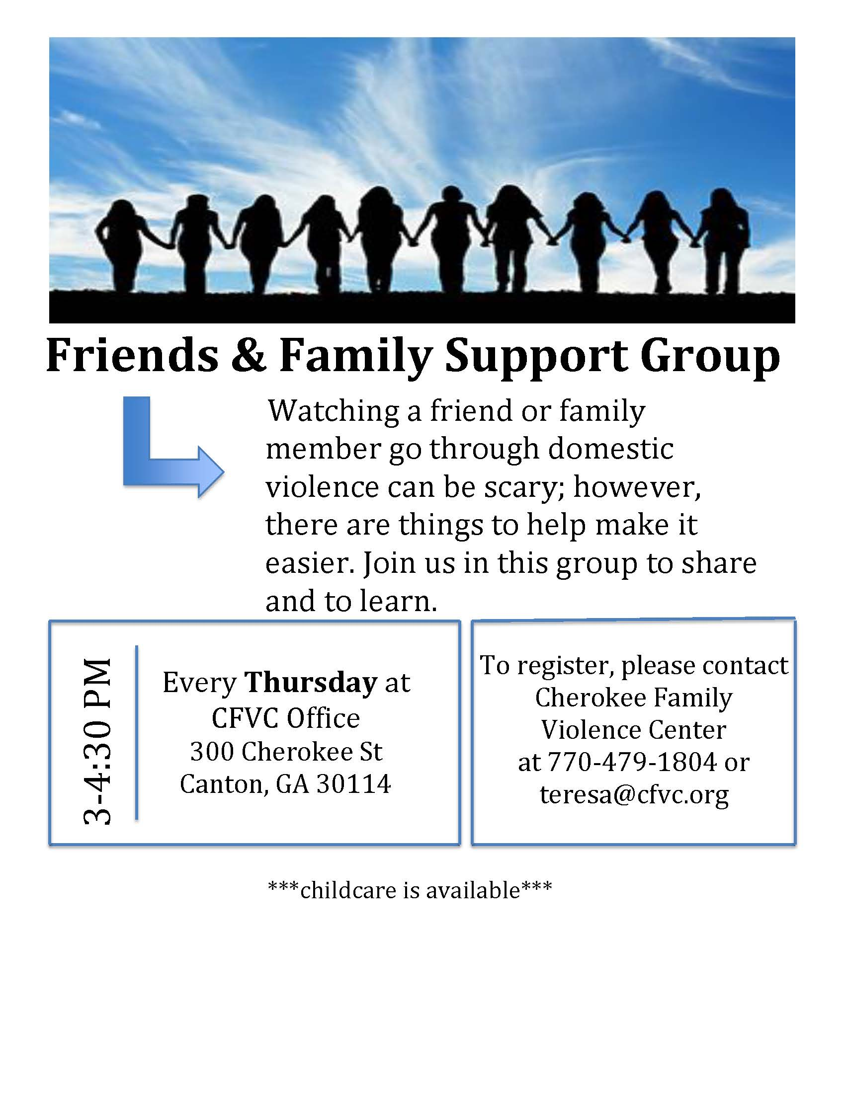 Friends Family Group Flyer (00000002)