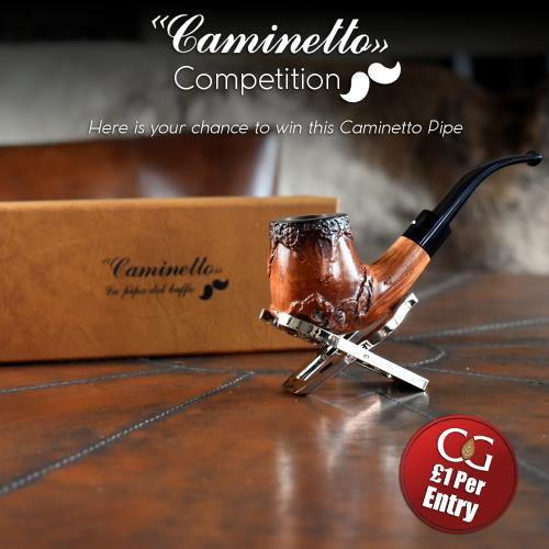 Competition Entry Caminetto New Deer 07 36 Fishtail Pipe Prize The Cigar Library - Caminetto History