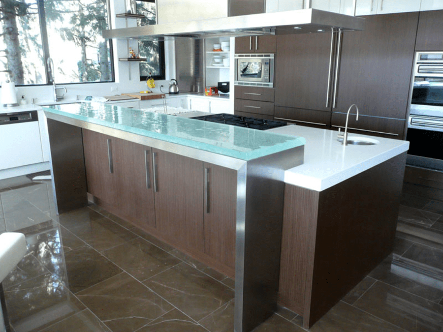 How To Add A Breakfast Bar To An Existing Counter Countertops Archives - Page 3 of 5 - CGD Glass Countertops ...