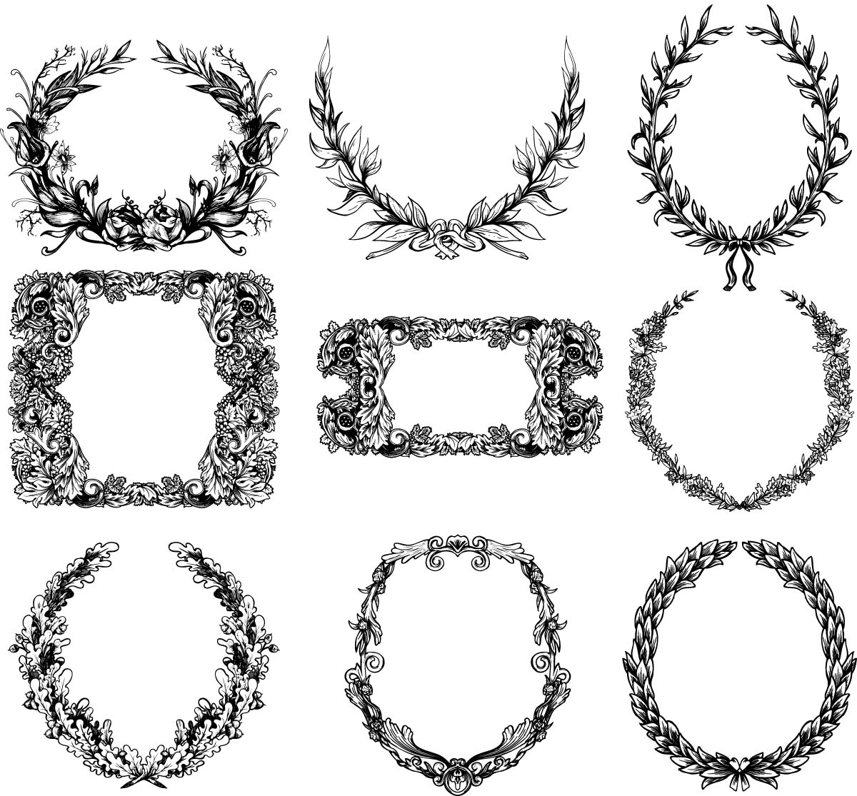wreath clipart outline auto electrical wiring diagramwreath clipart outline