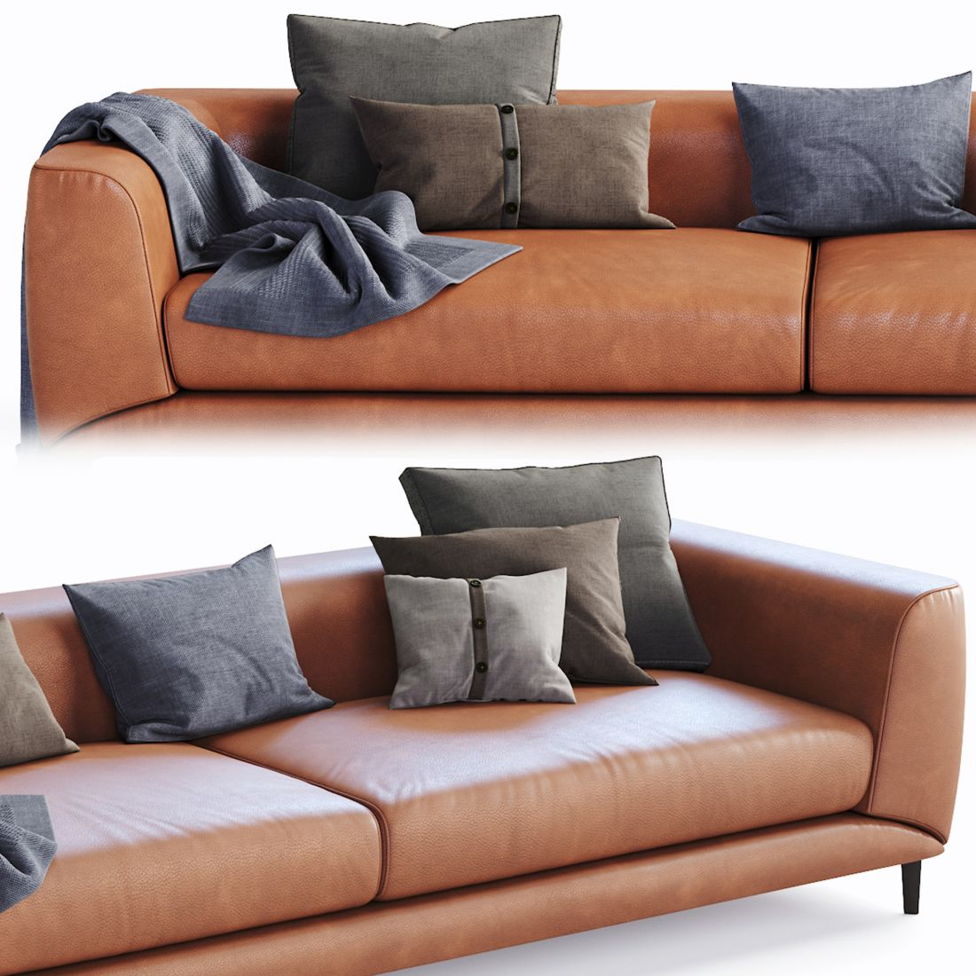 Sofa Boconcept Boconcept Sofa Fargo - 3d Model For Corona