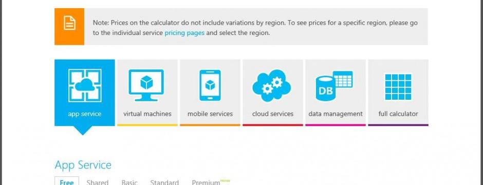 CGNET SERVICES Azure Pricing Calculator Archives - CGNET SERVICES - product pricing calculator