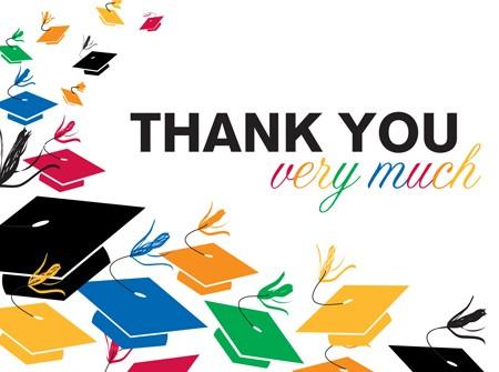 Graduation Toss Thank You\u0027s - Coolglow - thank you for graduation