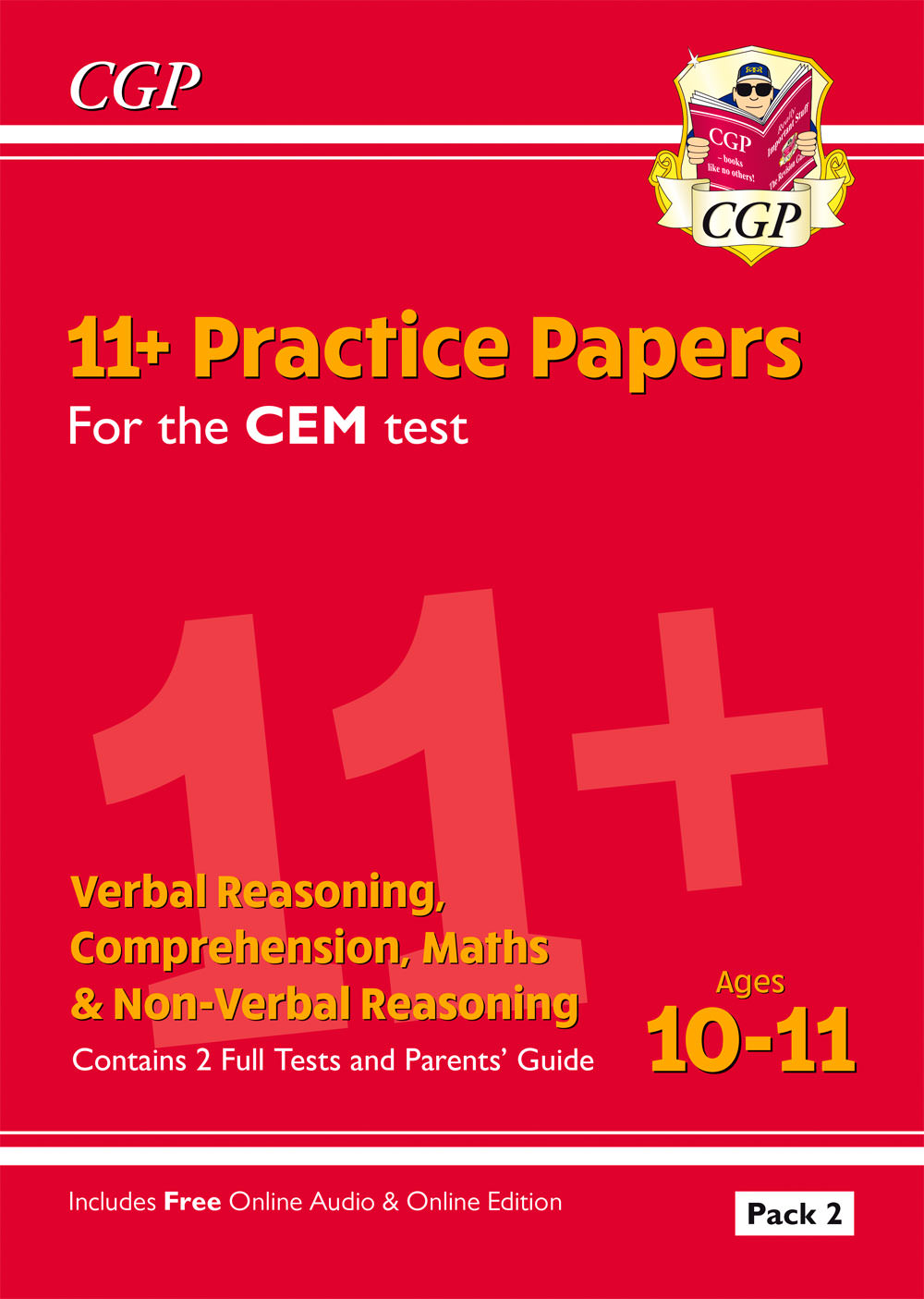 Online Pack New 11 Cem Practice Papers Ages 10 11 Pack 1 With Parents