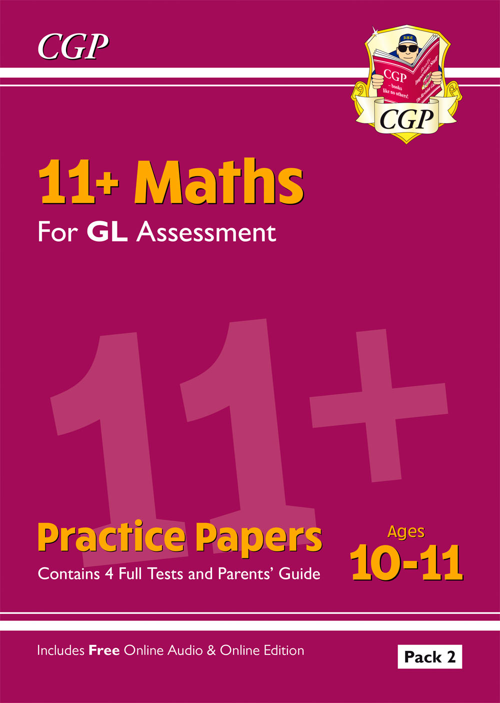 Online Pack New 11 Gl Maths Practice Papers Ages 10 11 Pack 2 With