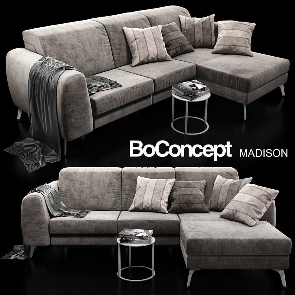 Boconcept Sofa Sofa Boconcept Madison 3d Model