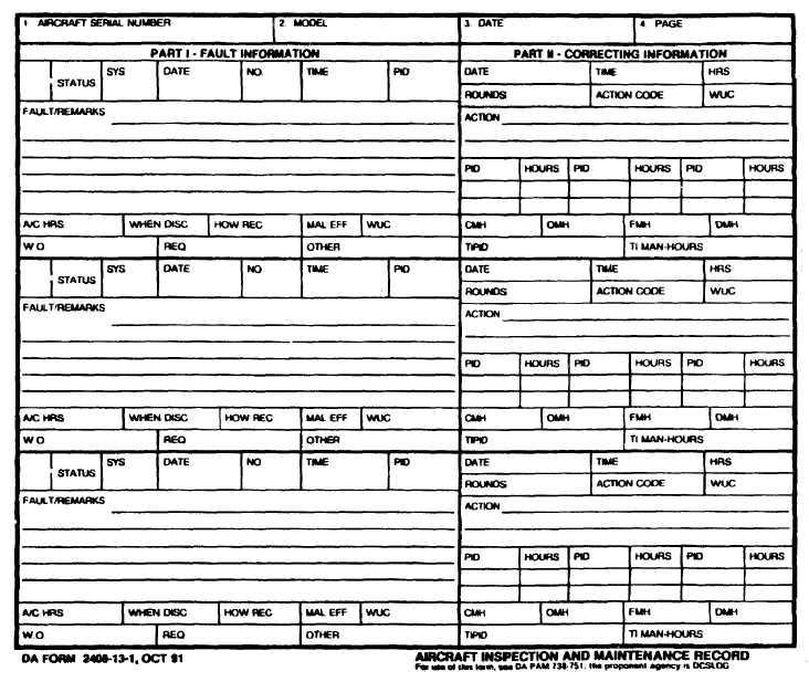 Figure 1-2 DA Form 2408-13-1 - da form