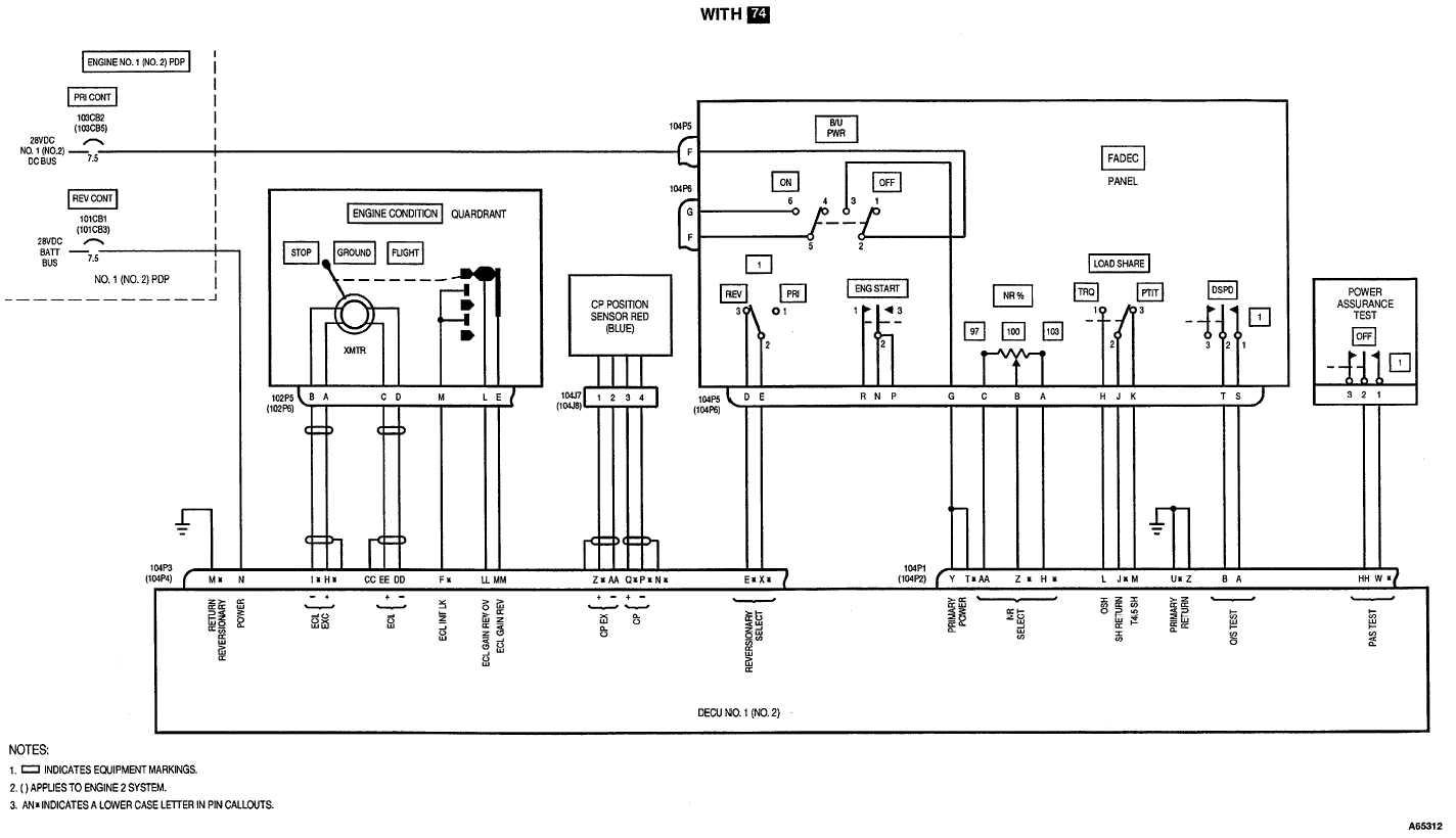 full authority digital electronic control fadec schematic diagram