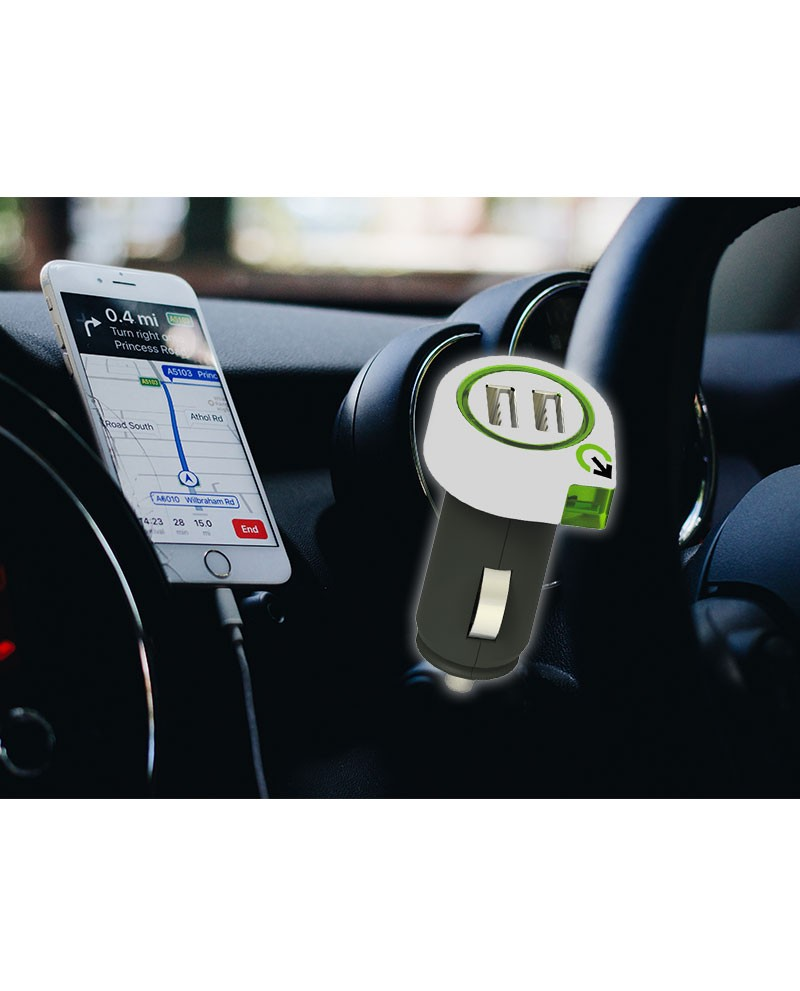 Auto Usb Lader Usb Oplader Voor Auto