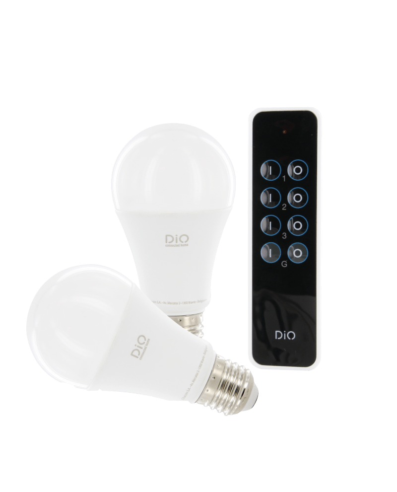 Ampoule Eclairage Ampoule Led Connectée Dio Connected Home
