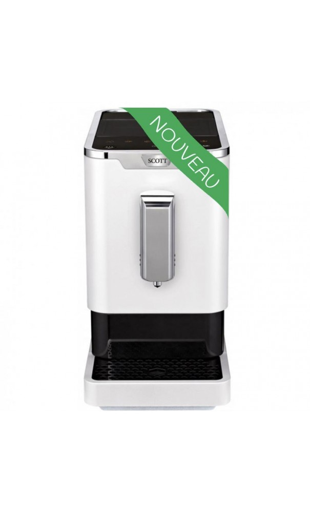 Melitta Cafetiere Scott Slimissimo Snow - Machine Café Grain Scott