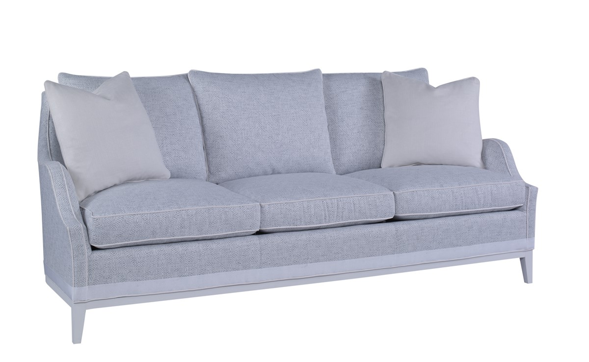 Cord Sofa Emma Exposed Leg Sofa U1710 3 By The Inch Chaddock Collection