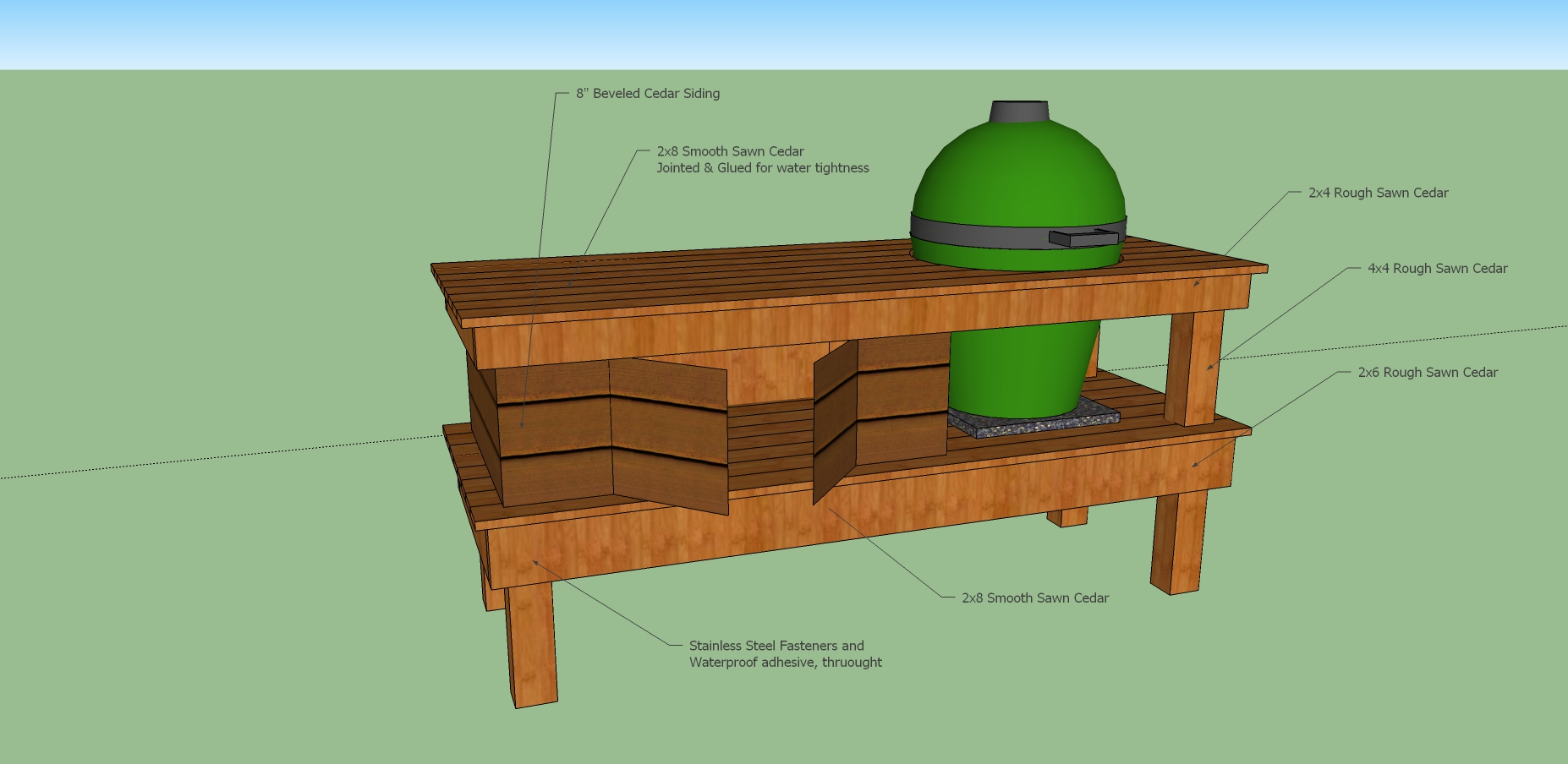 ... Big Green Egg Table Kits Wooden Pdf Building. Download