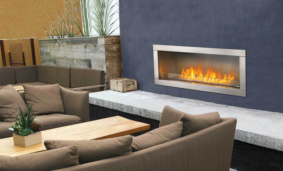 Outdoor Gas Fireplaces Napoleon Galaxy 48 Outdoor Gas Fireplace