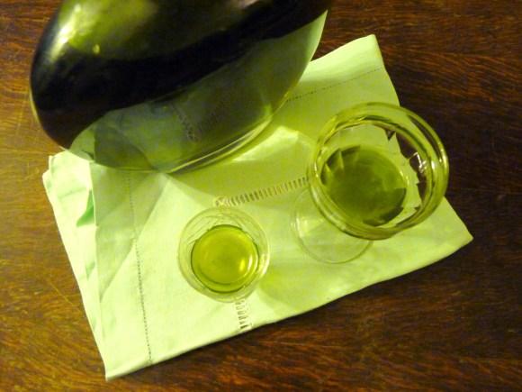"""liqueur de verveine citronnelle """"home made"""""""